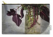 The World In A Mason Jar Carry-all Pouch