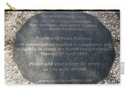 The World Peace Flame Carry-all Pouch