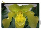 The Yellow Orchid Carry-all Pouch