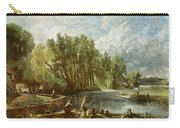 The Young Waltonians - Stratford Mill Carry-all Pouch by John Constable