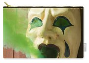 Theater Mask Spewing Green Smoke Carry-all Pouch