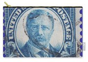 Theodore Roosevelt Postage Stamp Carry-all Pouch