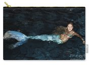 There Is A Mermaid In The Pool Carry-all Pouch