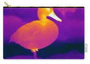 Thermogram Of A Cinnamon Teal Duck Carry-all Pouch