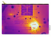 Thermogram Of A Computer Board Carry-all Pouch