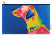 Thermogram Of A Dog Carry-all Pouch