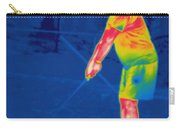 Thermogram Of A Golfer Carry-all Pouch