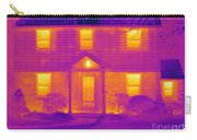 Thermogram Of A House In Winter Carry-all Pouch