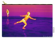 Thermogram Of A Skater Carry-all Pouch