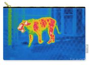 Thermogram Of A Tiger Carry-all Pouch