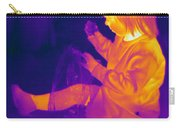 Thermogram Of A Young Girl Carry-all Pouch