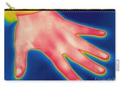 Thermogram Of Hand Carry-all Pouch