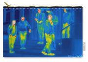 Thermogram Of Kids Hanging Carry-all Pouch
