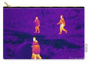 Thermogram Of People Walking Carry-all Pouch