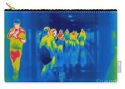 Thermogram Of Students In A Hallway Carry-all Pouch