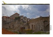 They Walk The Wall In Dubrovnik Carry-all Pouch
