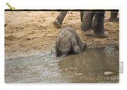 Thirsty Young Elephant Carry-all Pouch