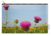 Thistle And Sunflower 2am-110468 Carry-all Pouch
