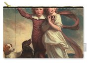 Thomas John Clavering And Catherine Mary Clavering Carry-all Pouch by George Romney