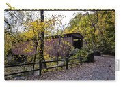 Thomas Mill Covered Bridge Over The Wissahickon Carry-all Pouch