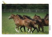 Thoroughbred Horses, Ireland Carry-all Pouch