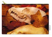 Three Animal Skulls Carry-all Pouch