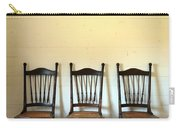 Three Antique Chairs Carry-all Pouch by Jill Battaglia