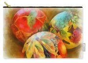 Three Balls - Watercolor Carry-all Pouch