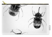 Three Beetles X-ray Carry-all Pouch