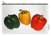 Three Bell Peppers Carry-all Pouch