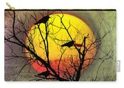 Three Blackbirds Carry-all Pouch