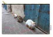 Three Cats In Essaouira Carry-all Pouch