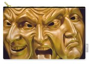 Three Faces Carry-all Pouch