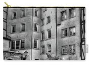 three homes in Black and White Carry-all Pouch