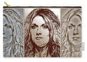 Three Interpretations Of Celine Dion Carry-all Pouch