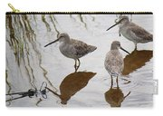 Three Long Billed Dowitchers Carry-all Pouch