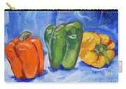 Three Peppers Carry-all Pouch