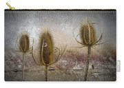 Three Prickly Teasels Carry-all Pouch