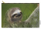 Three-toed Sloth Carry-all Pouch by Heiko Koehrer-Wagner