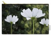 Three Wildflowers Carry-all Pouch