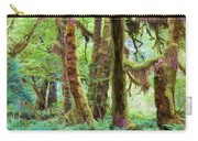 Through Moss Covered Trees Carry-all Pouch