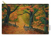 Through The Fallen Leaves II Carry-all Pouch