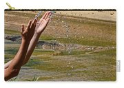 Throwing Water I Carry-all Pouch