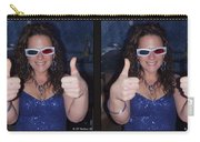 Thumbs Up - Gently Cross Your Eyes And Focus On The Middle Image Carry-all Pouch