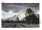 Thunderstorm On Grand Teton Road Carry-all Pouch