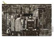 Thurmond Wv Train Sepia Carry-all Pouch