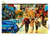 Thursdays Pub On Crescent Street Montreal City Scene Carry-all Pouch