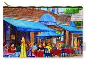 Ti Amo Restaurant Prince Arthur Street Montreal Carry-all Pouch by Carole Spandau
