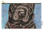 Tia Shar Pei Dog Painting Carry-all Pouch