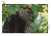 Tibetan Macaque Nursing Baby Carry-all Pouch